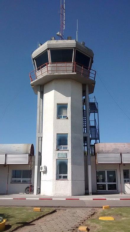 Torre de control del aeropuerto de Melilla