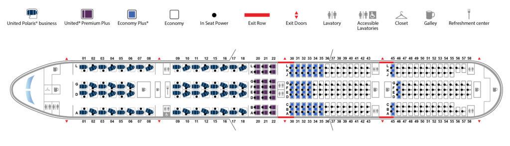 Disposición de asientos del Boeing 777-300ER